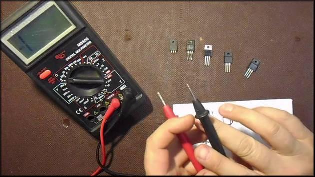 Проверка транзистора